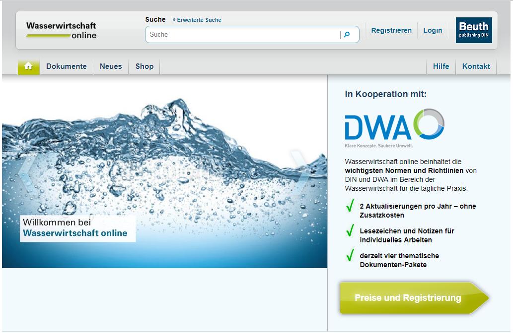 Wasserwirtschaft online