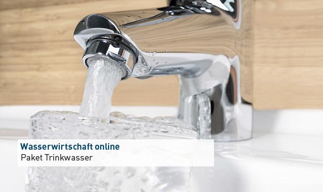 Slider-Trinkwasser-Label